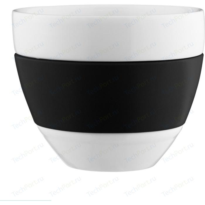 Чашка для латте 300 мл чёрная Koziol Aroma (3560526)