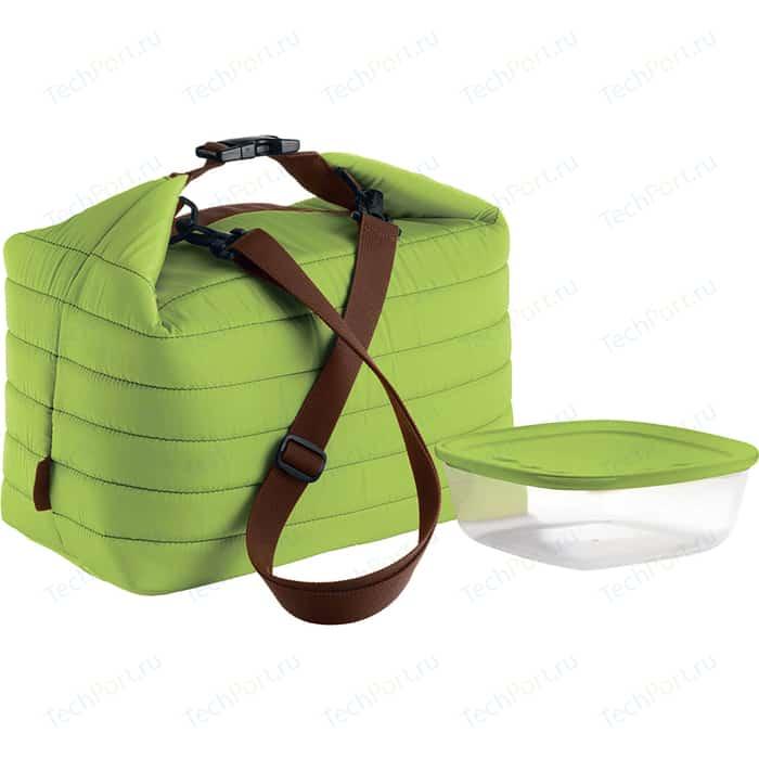 Набор термосумка+контейнер большой зелёный Guzzini Handy (03290384)