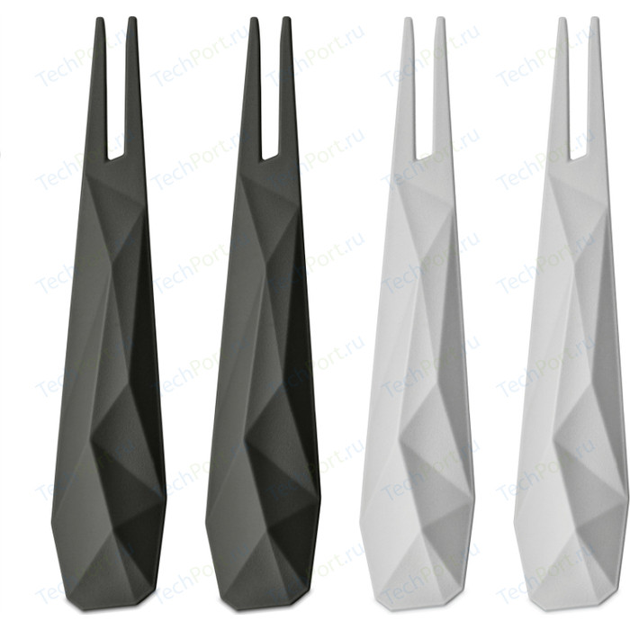 Набор из 4 шпажек серый Koziol Club (3133355)