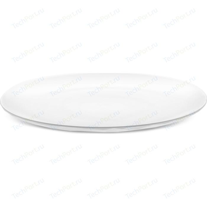 Тарелка обеденная d 26 см белая Koziol Club (4005525)