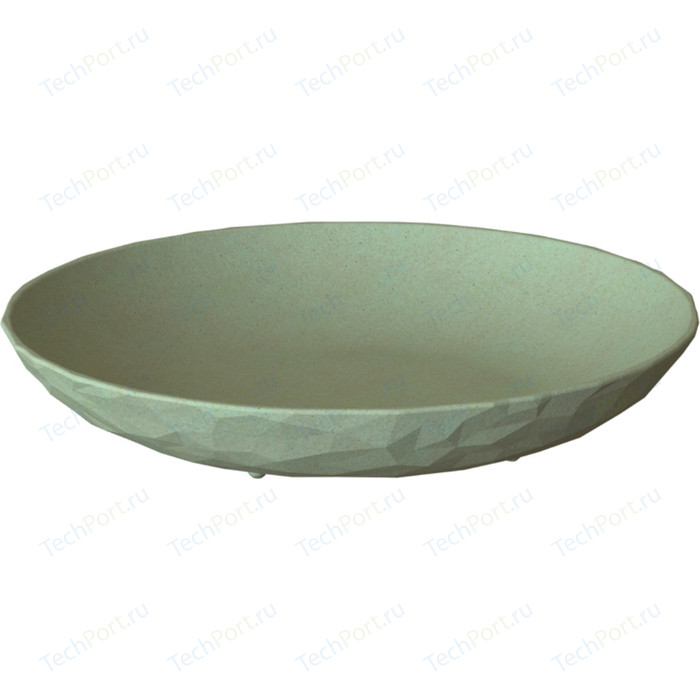Тарелка суповая d 22 см зелёная Koziol Club Organic (4006668)