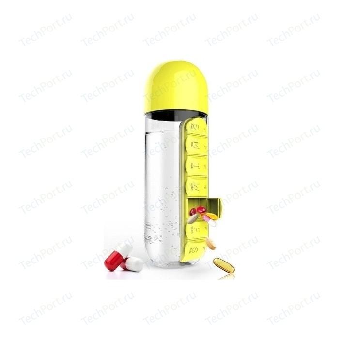 Бутылка органайзер 0,6 л желтая Asobu In style (PB55 yellow)