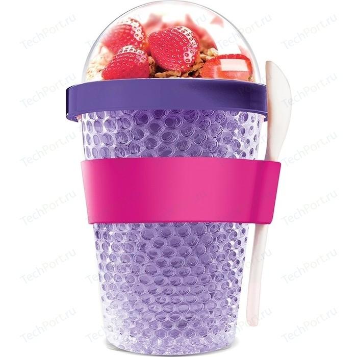 Контейнер 0,38 л фиолетовый Asobu Chill yo 2 go (CY2GO purple)
