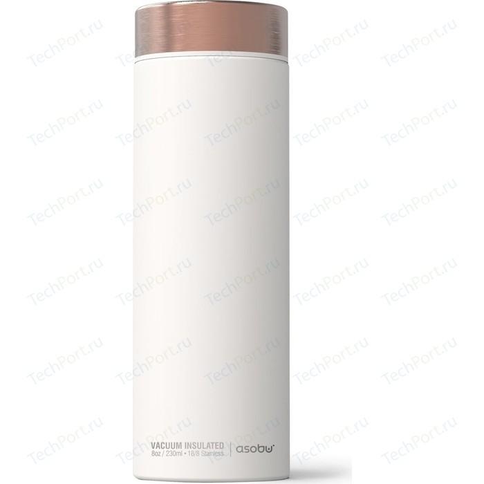 Термос 0,5 л белый/медный Asobu Le Baton Travel (LB17 WHITE/COPPER)