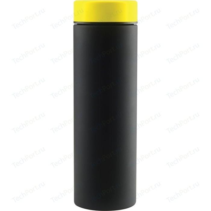 Термос 0,5 л черный/желтый Asobu Le Baton Travel (LB17 BLACK/YELLOW)