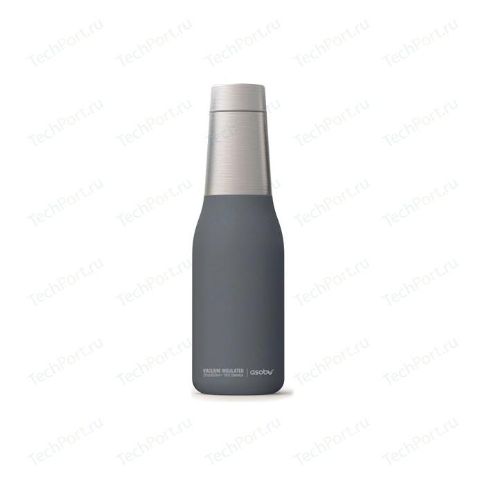 Термос-бутылка 0,59 л серая Asobu Oasis (SBV23 grey) термос фляга asobu central park
