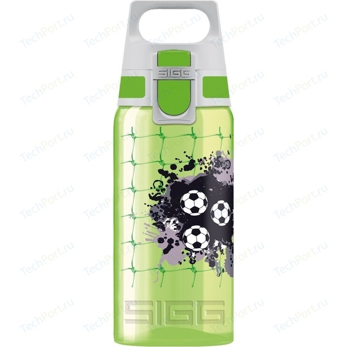 Бутылочка детская Football 0,5 л зеленая Sigg Viva One (8596.50)