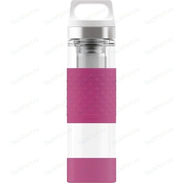 Термобутылка 0,4 л розовая Sigg H&C Glass WMB Midnight (8599.00)