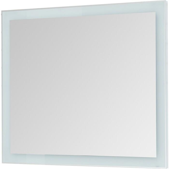 Зеркало Dreja Kvadro 100 белый (77.9013W)