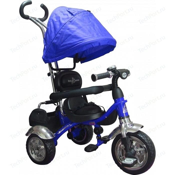 Фото - Велосипед 3-х колесный Lexus Trike Grand (MS-0581) синий велосипед 2 х колесный capella синий белый gl000432791