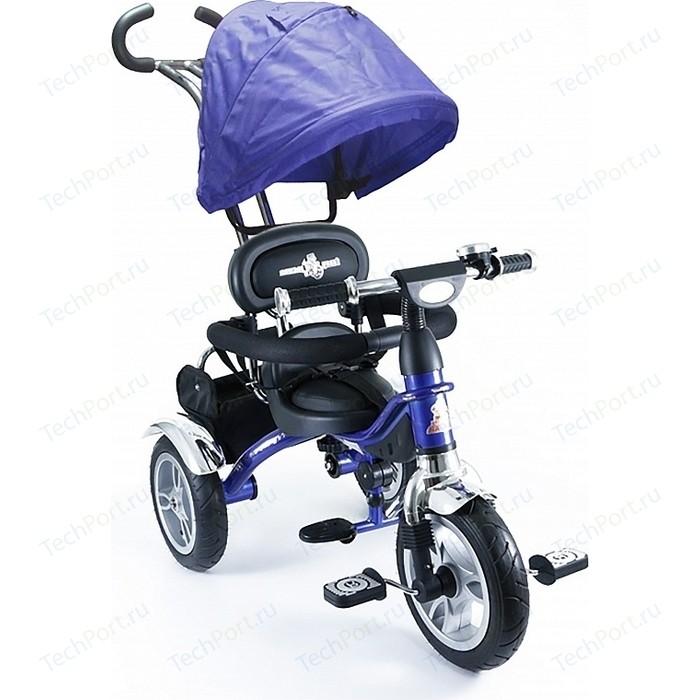 Фото - Велосипед 3-х колесный Lexus Trike Grand (MS-0586) синий велосипед 2 х колесный capella синий белый gl000432791