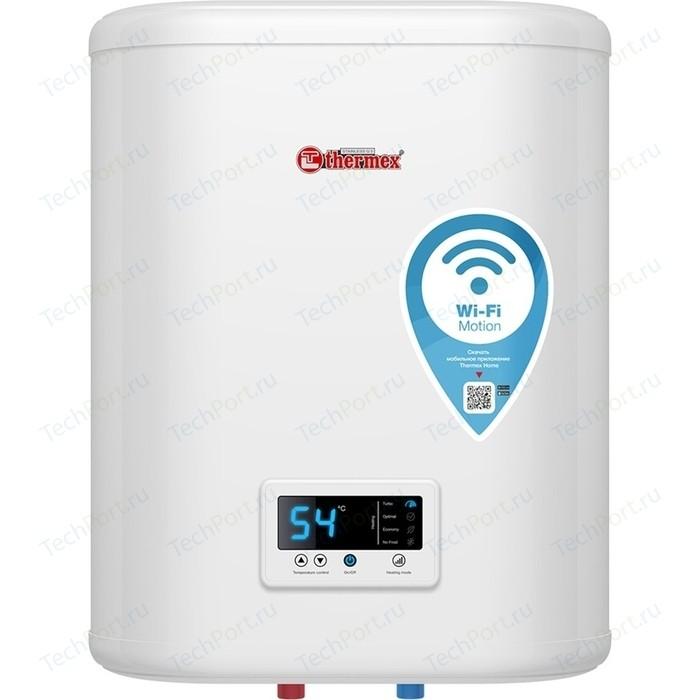 Электрический накопительный водонагреватель Thermex IF 30 V (pro) Wi-Fi электрический накопительный водонагреватель thermex thermex optima 30 wi fi