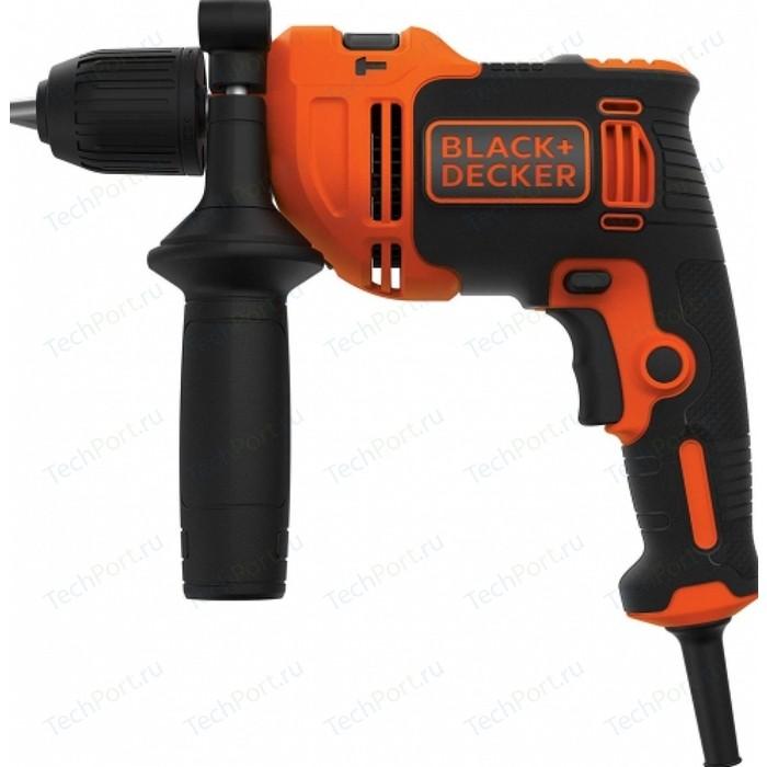 Дрель Black+Decker BEH710-QS