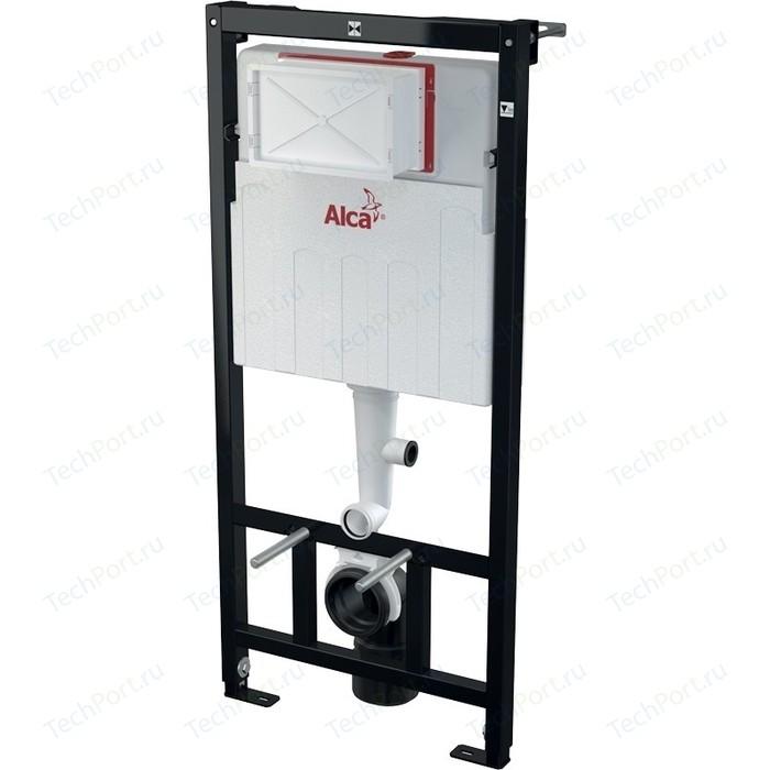 Инсталляция для унитаза AlcaPlast сухой установки (для гипсокартона) (AM101/1120V)