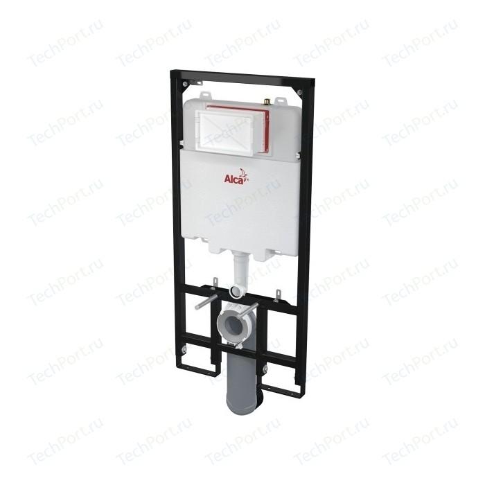Инсталляция для унитаза AlcaPlast сухой установки (для гипсокартона) (AM1101/1200)