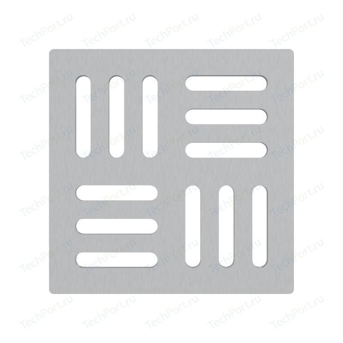 Решетка AlcaPlast нержавеющая сталь (MPV011)