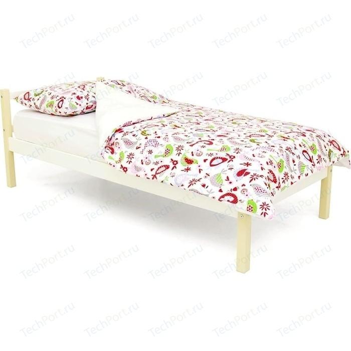 Детская кровать Бельмарко Skogen classic бежево-белый