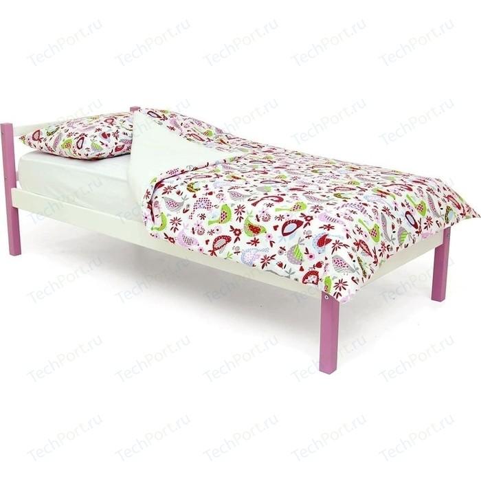 Детская кровать Бельмарко Skogen classic лаванда-белый