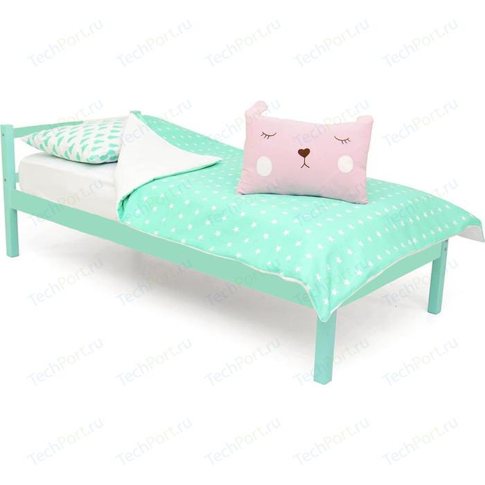 Детская кровать Бельмарко Skogen classic мятный