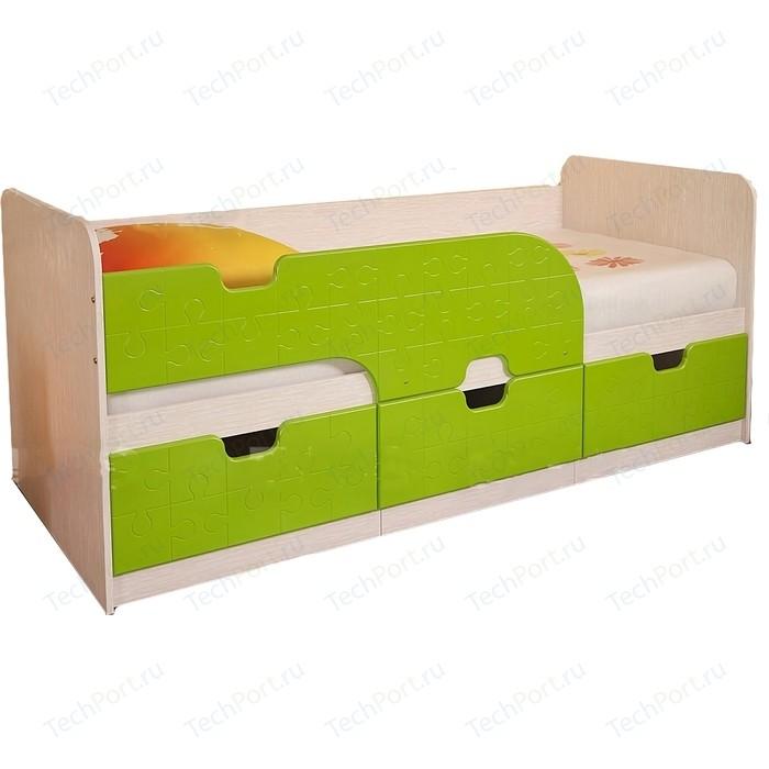 Кровать детская БТС Минима лайм