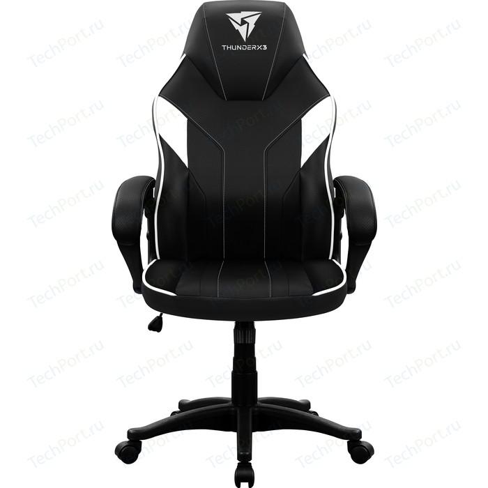 Кресло компьютерное ThunderX3 EC1 black-white AIR