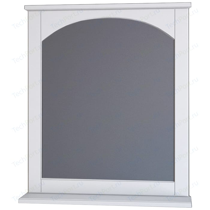 Зеркало с полкой Dreja Antia 65 белое (99.0425)