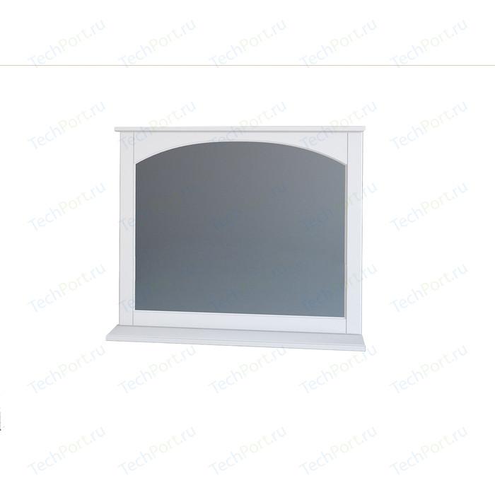 Зеркало с полкой Dreja Antia 85 белое (99.0427)