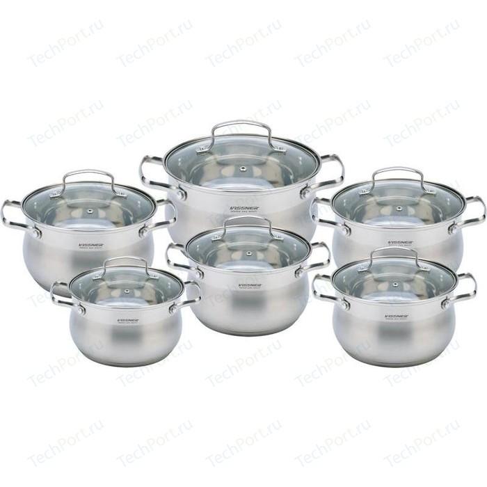 Набор посуды 12 предметов Vissner (VS-50627)