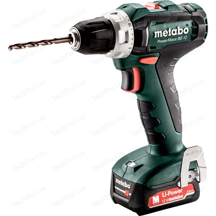 Шуруповерт Metabo PowerMaxx BS 12 пила metabo powermaxx ase 10 8 2x4 0 liion metal 602264750