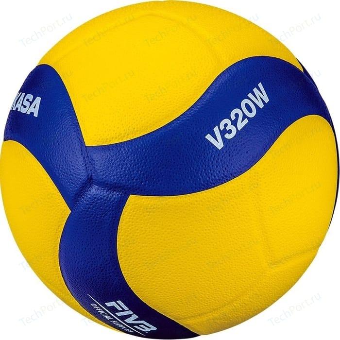 Мяч волейбольный Mikasa V320W р.5 официальные параметры FIVB мяч волейбольный wilson wth10320xb р 5