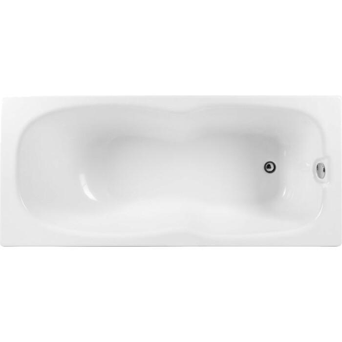 Акриловая ванна Aquanet Riviera 180x80 с каркасом, без гидромассажа (231080)
