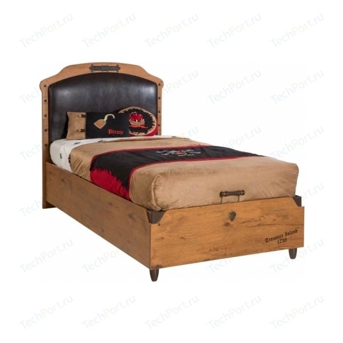 Кровать корабль Cilek Black Pirate с подьемным механизмом 20.13.1706.00