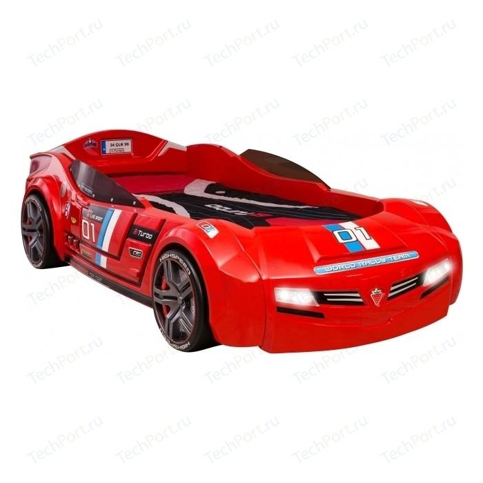 Кровать-машина Cilek Biturbo красная