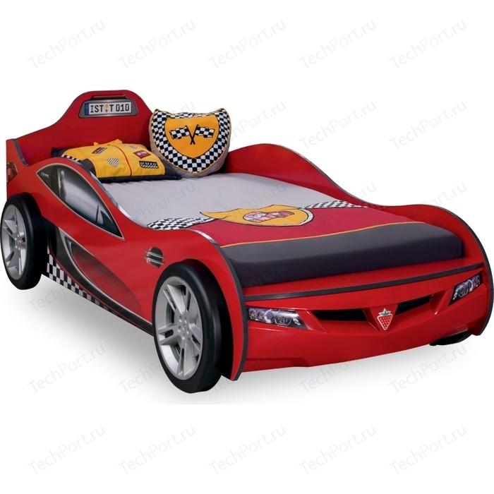 Кровать-машина Cilek Coupe красная