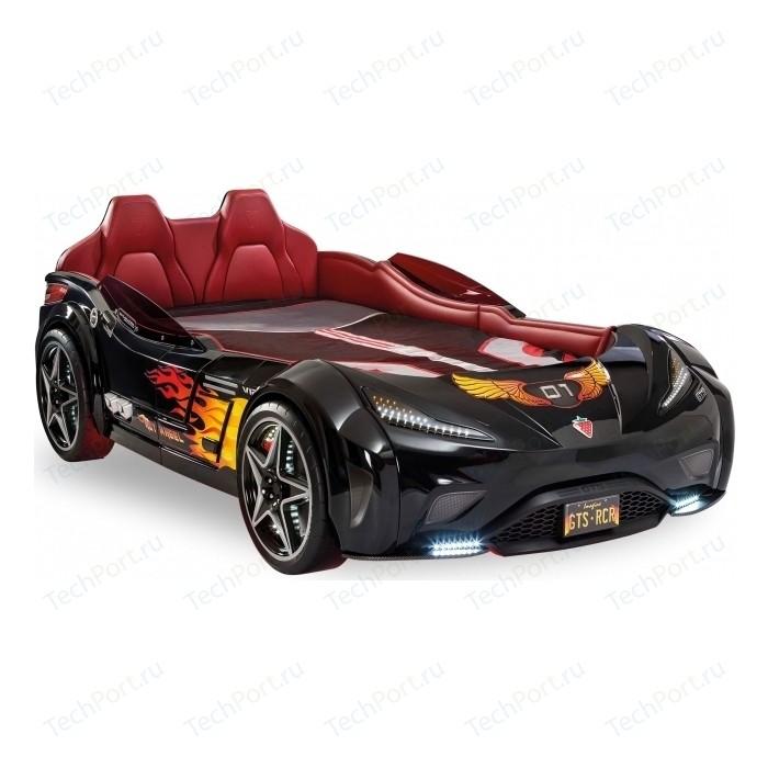 Кровать-машина Cilek GTS черная