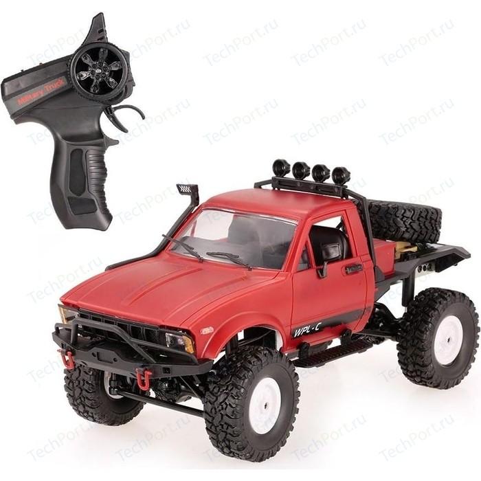 Радиоуправляемый краулер WPL 4WD RTR масштаб 1:16 2.4G - WPLC-14-Red