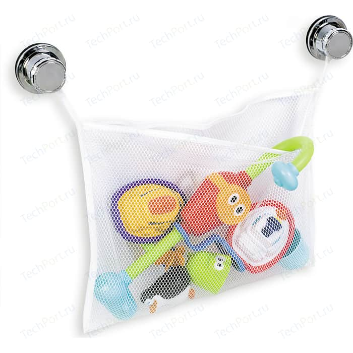Мешок для игрушек Tatkraft VACUUM SCREW TEDDY хранения и сушки предметов в ванной комнате (10840)