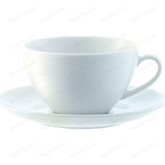 Набор из 4 округлых чашек с блюдцем 220 мл LSA International Dine (P019-07-997)