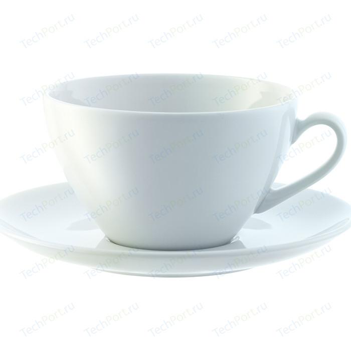 Набор из 4 округлых чашек с блюдцем 350 мл LSA International Dine (P019-13-997)