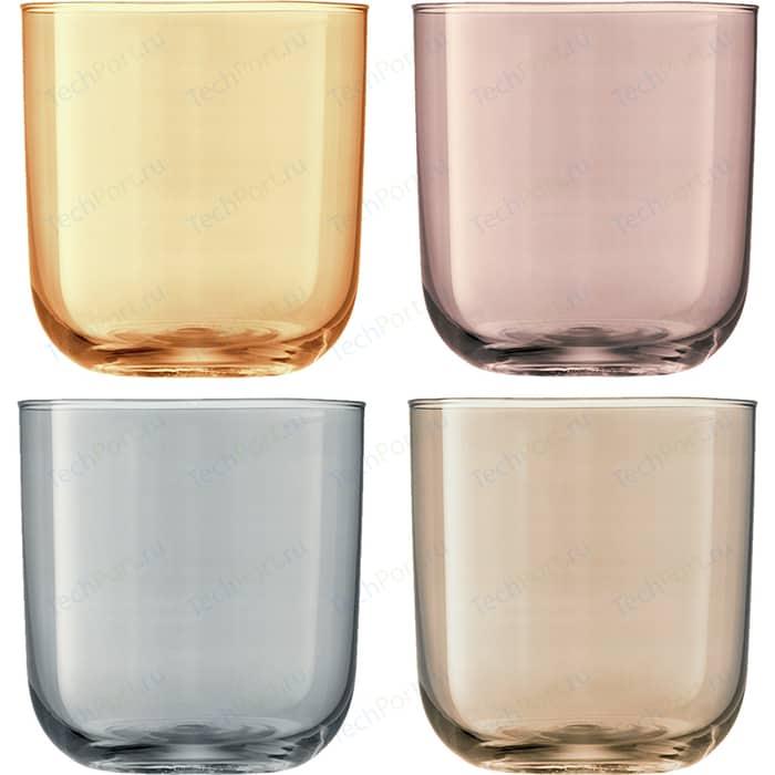 Набор из 4 стаканов 420 мл металлик LSA International Polka (G977-15-960)
