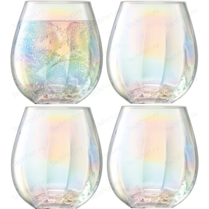 Набор из 4 стаканов 425 мл LSA International Pearl (G1331-15-401)