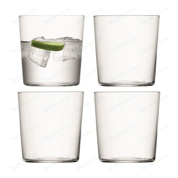 Набор из 4 стаканов, 390 мл LSA International Gio (G060-13-992A)