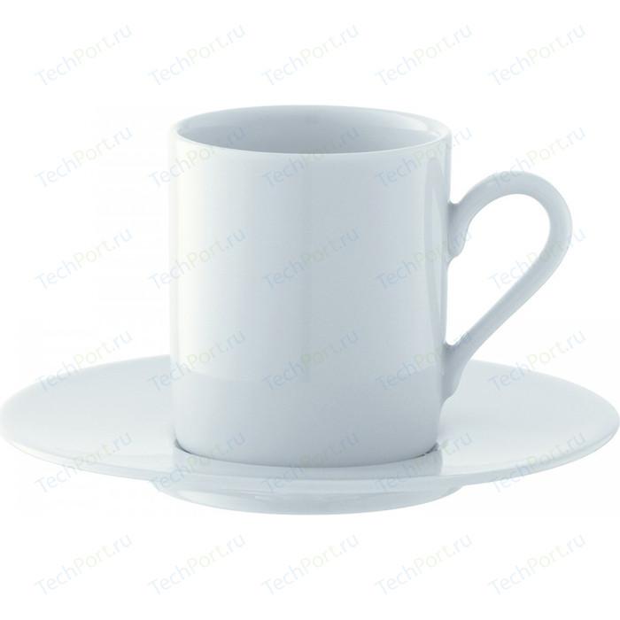 Набор из 4 чашек для эспрессо с блюдцем 90 мл LSA International Dine (P055-01-997)