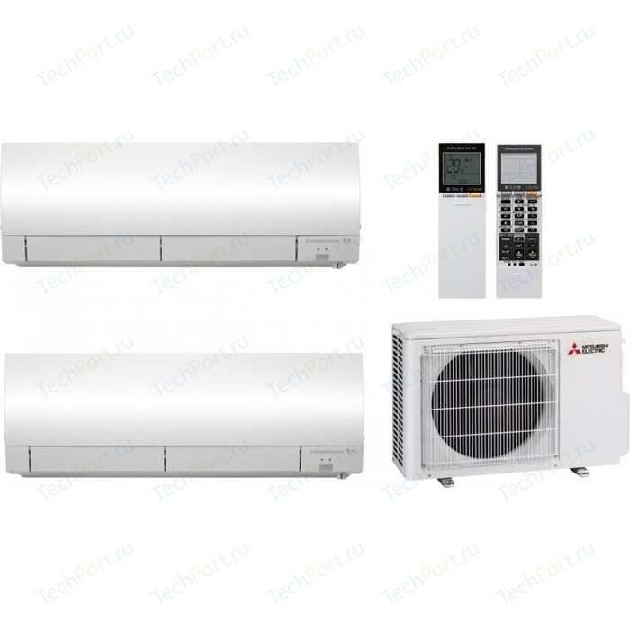 Мульти сплит-система Mitsubishi Electric MSZ-FH25VEx2/MXZ-2D33VA