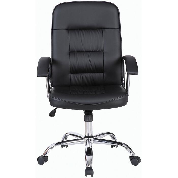 Кресло офисное Brabix Bit EX-550 хром, экокожа черное 531838