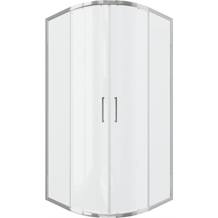 Душевой уголок Bravat Drop 100x100 прозрачный, хром (BS100.1200A)
