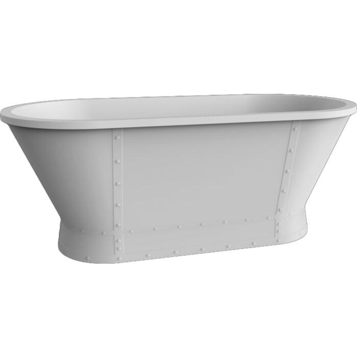 Акриловая ванна BelBagno 167,6x78 слив-перелив бронза (BB35 + BB39-OVF-BRN + BB39-T-BRN) цена 2017