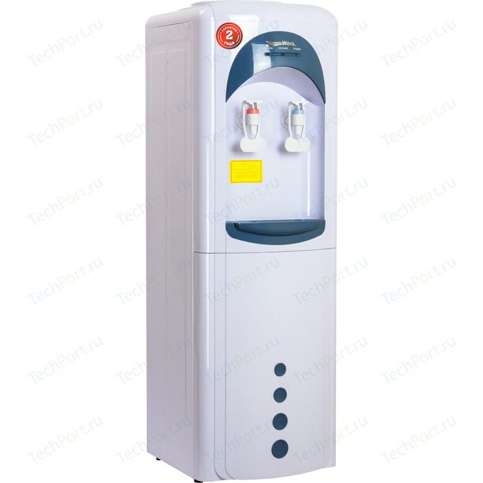 Кулер для воды Aqua Work 16-L/HLN (бело-синий)