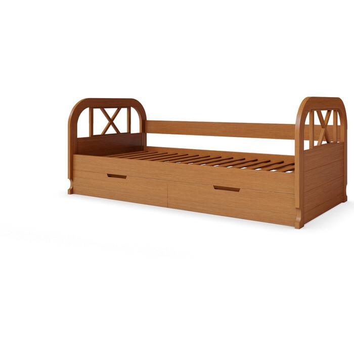 Кровать Miella Flying 90x200 орех