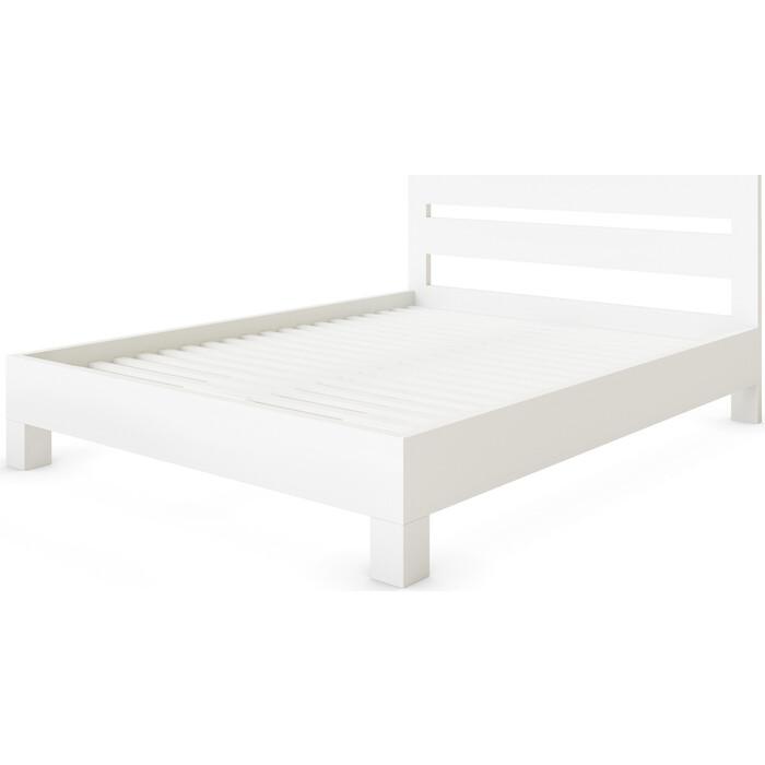 Кровать Miella Dream 180x195 белый (эмаль)